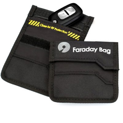 Key Shield Faraday Bag RF Shielding for Car Keys