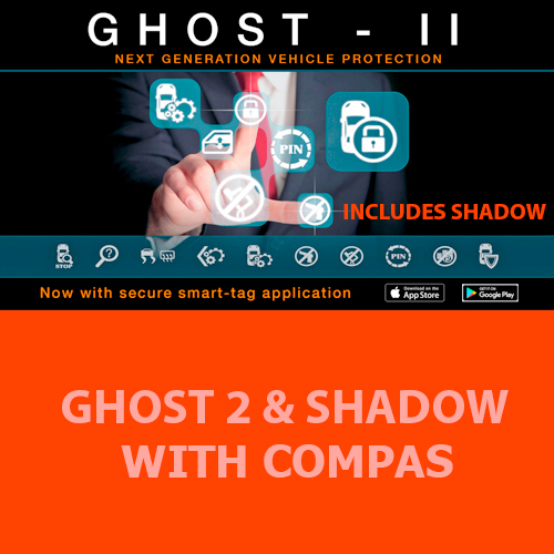 Autowatch Ghost Shadow - Compass Kit