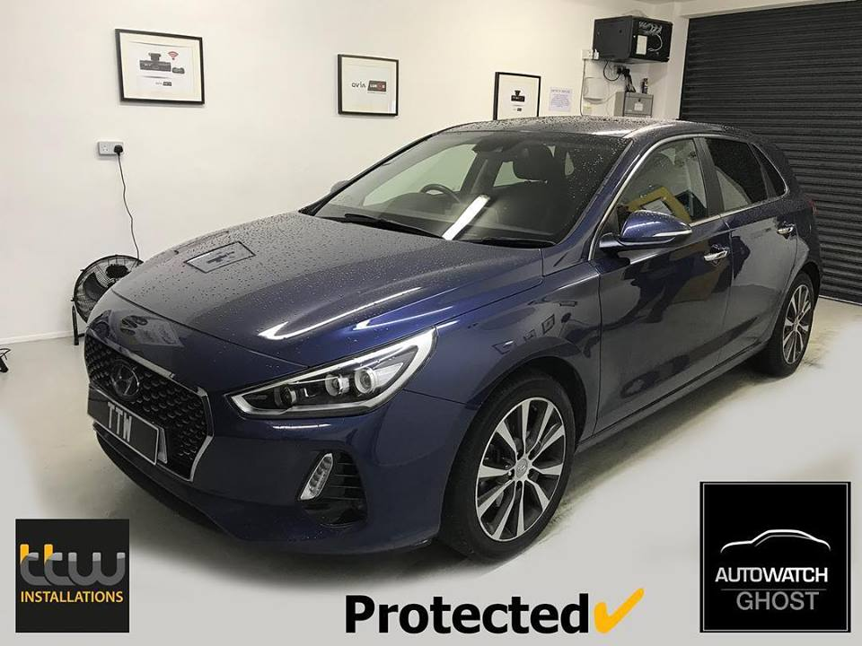 Hyundai i30 Autowatch Ghost 2 protected By TTW Installations