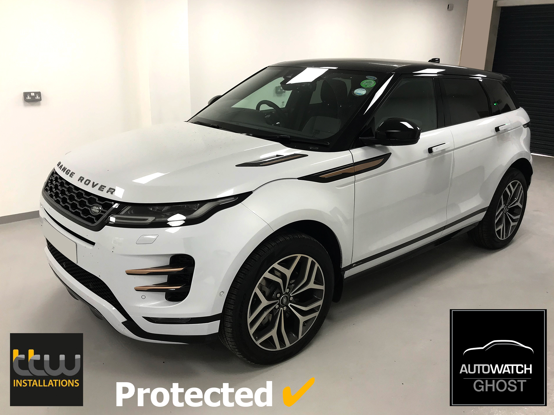 Autowatch Ghost Range Rover Specialists - Range Rover Evoque - Theft Security UK