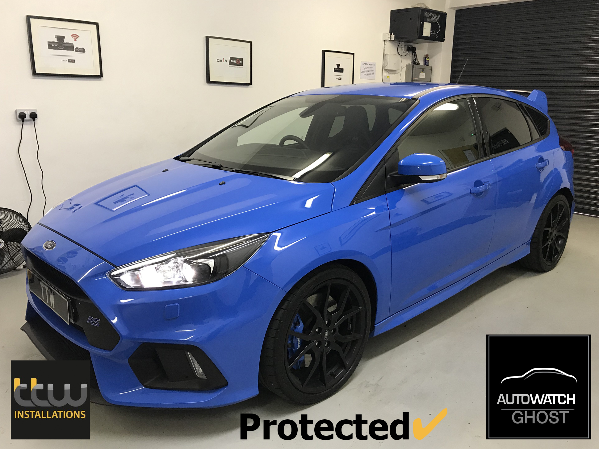TTW Installations - Autowatch Ghost 2 - UK Installs - Ford Focus RS Specialists