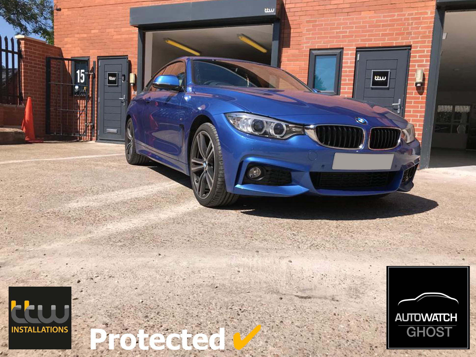 BMW 3 Series Autowatch Ghost 2 protected By TTW Installations