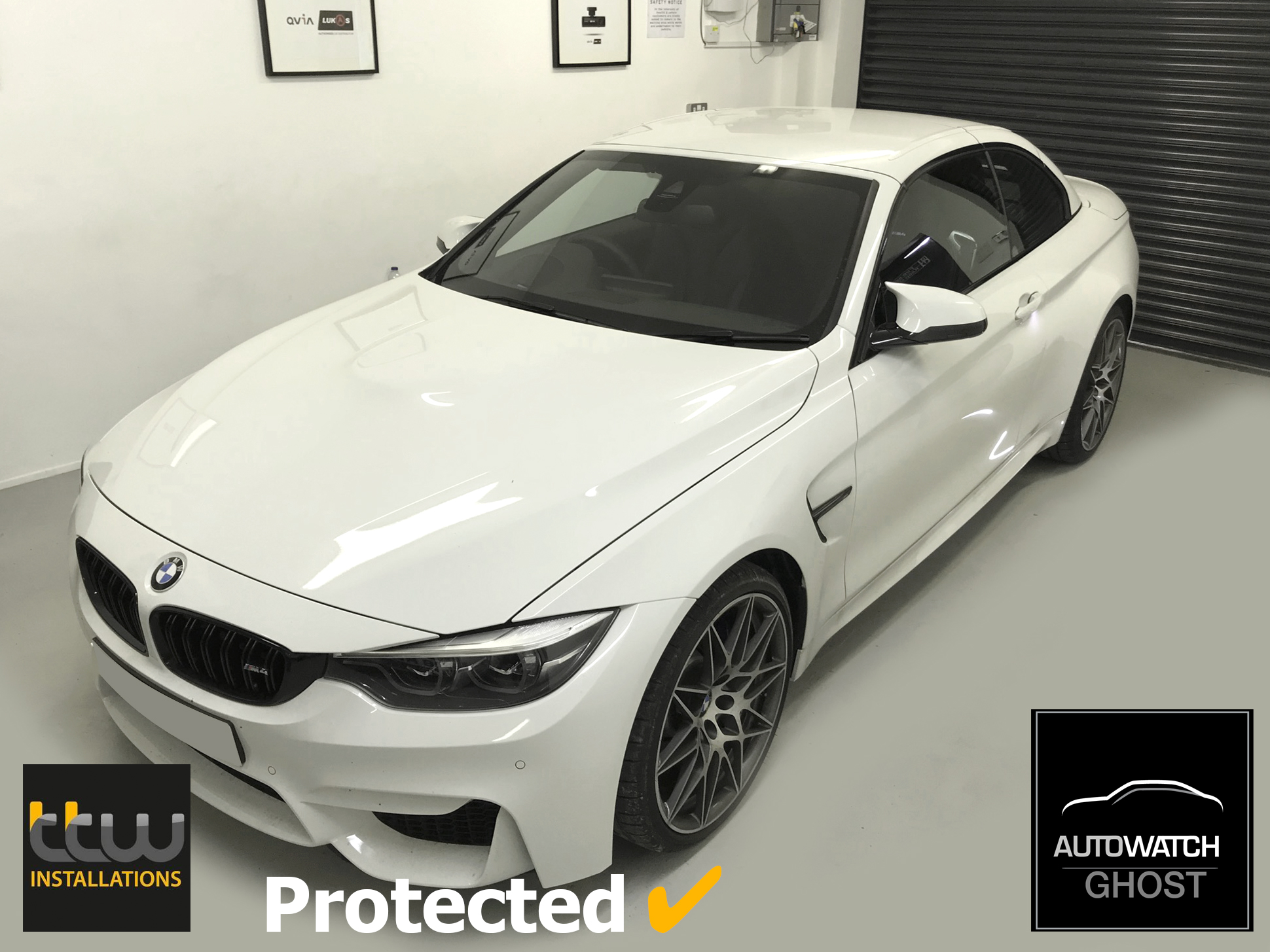 BMW M2 Autowatch Ghost 2 protected By TTW Installations