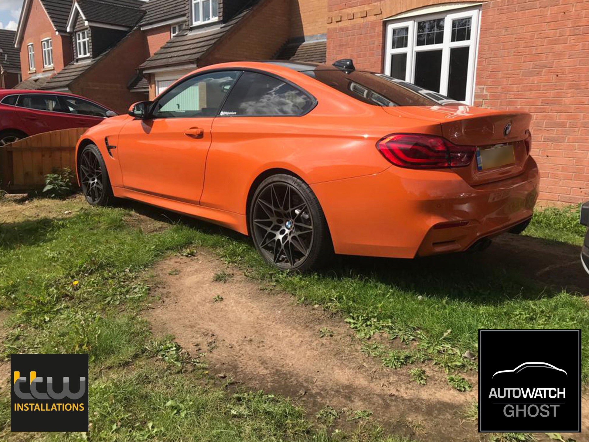 BMW M3 Autowatch Ghost 2 protected By TTW Installations