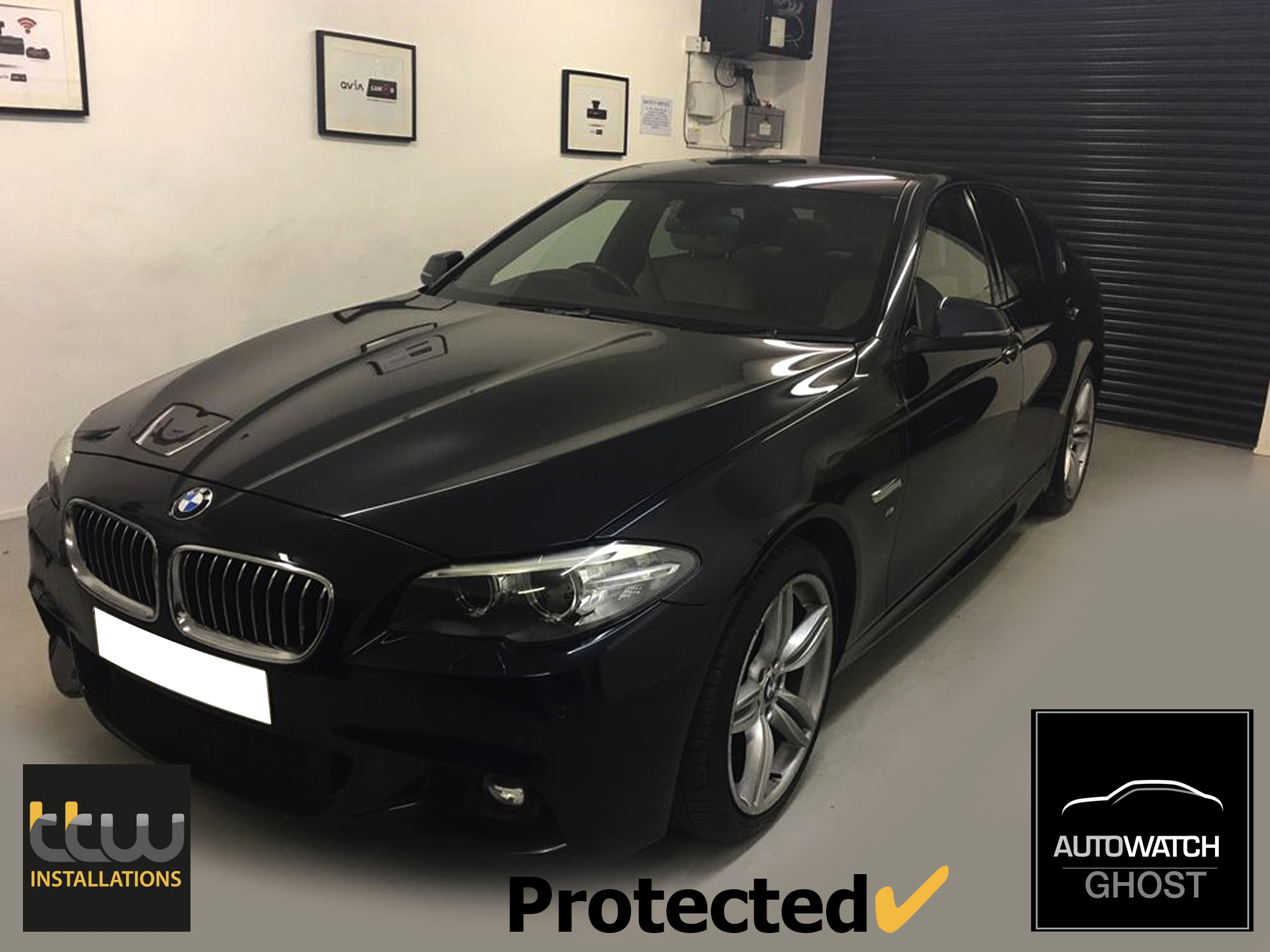 BMW 5 Series Autowatch Ghost 2 protected By TTW Installations