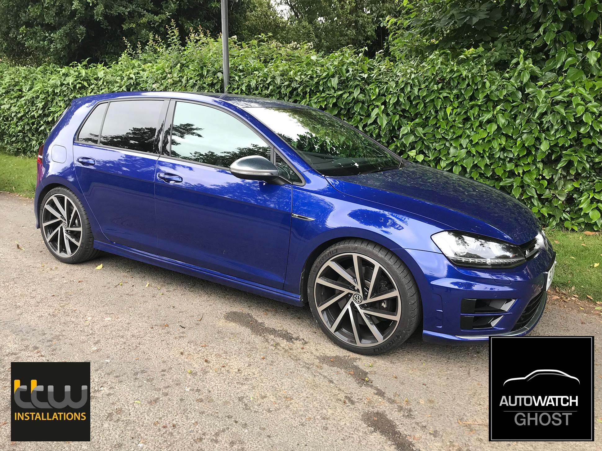 VW Golf R Autowatch Ghost 2 protected By TTW Installations