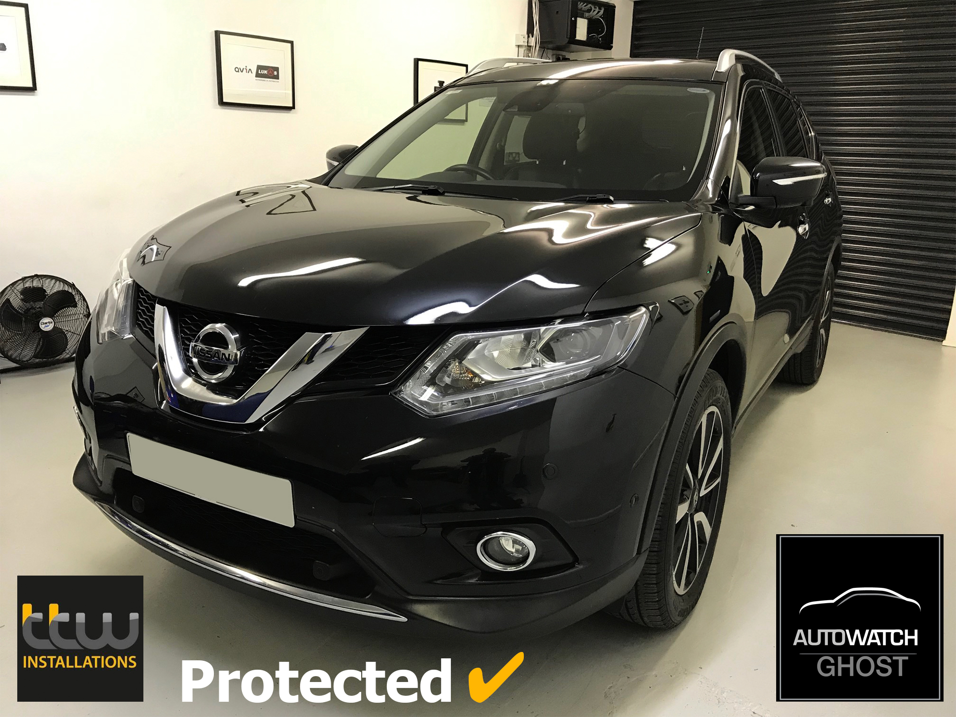 Nissan Autowatch Ghost 2 protected By TTW Installations