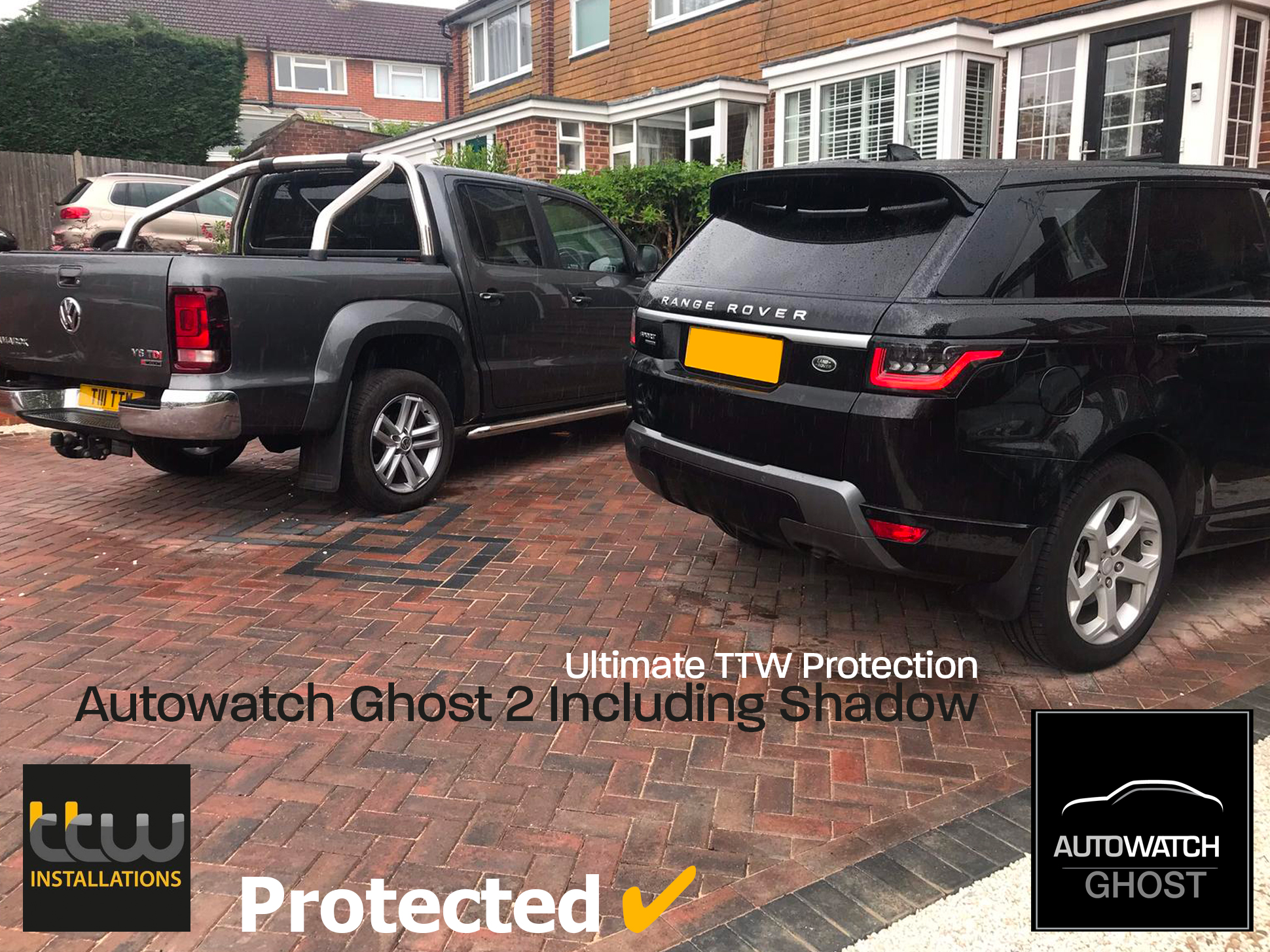 Range Rover Sport Autowatch Ghost 2 protected By TTW Installations