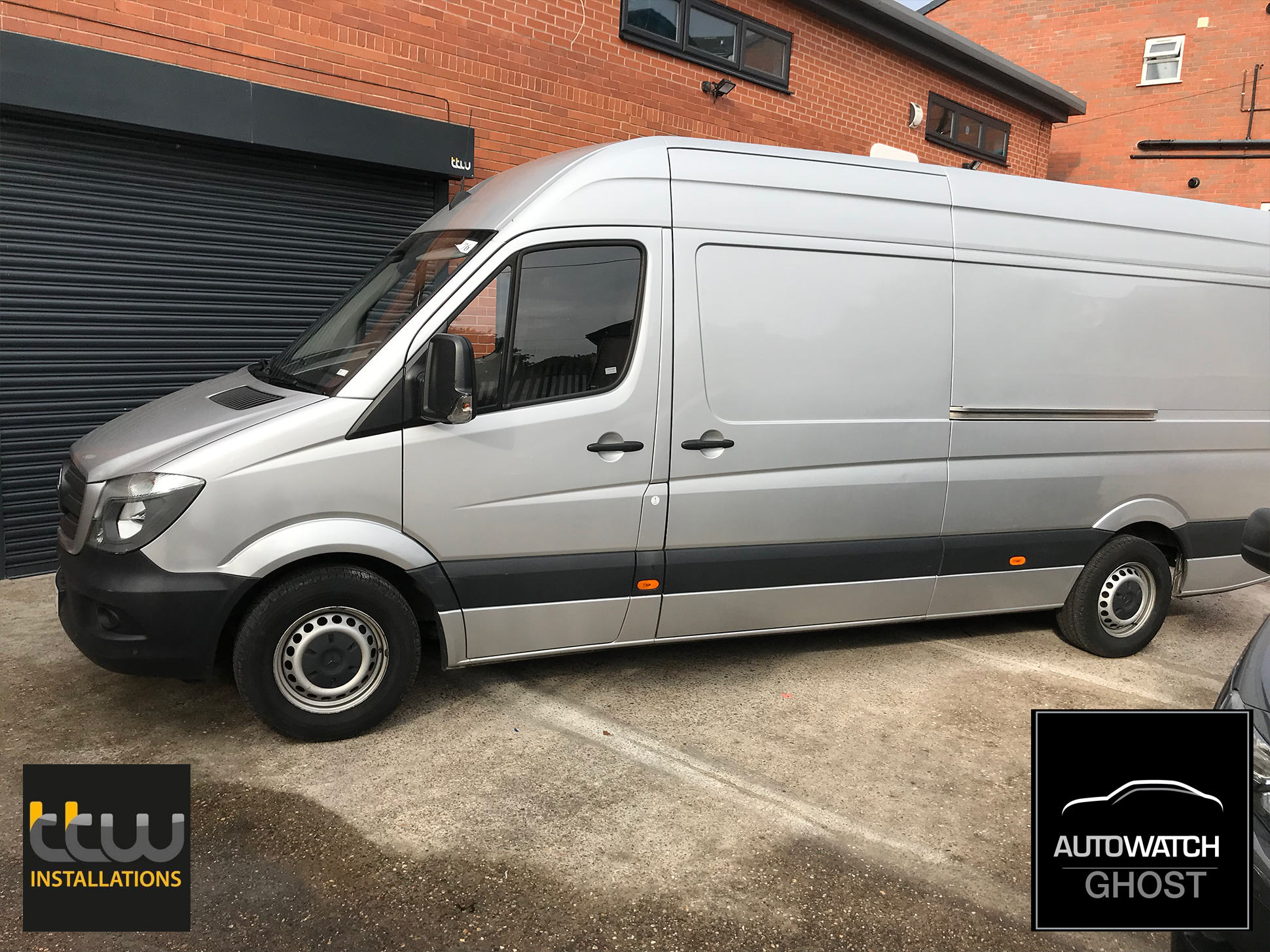 mercedes sprinter van Autowatch Ghost 2 protected By TTW Installations